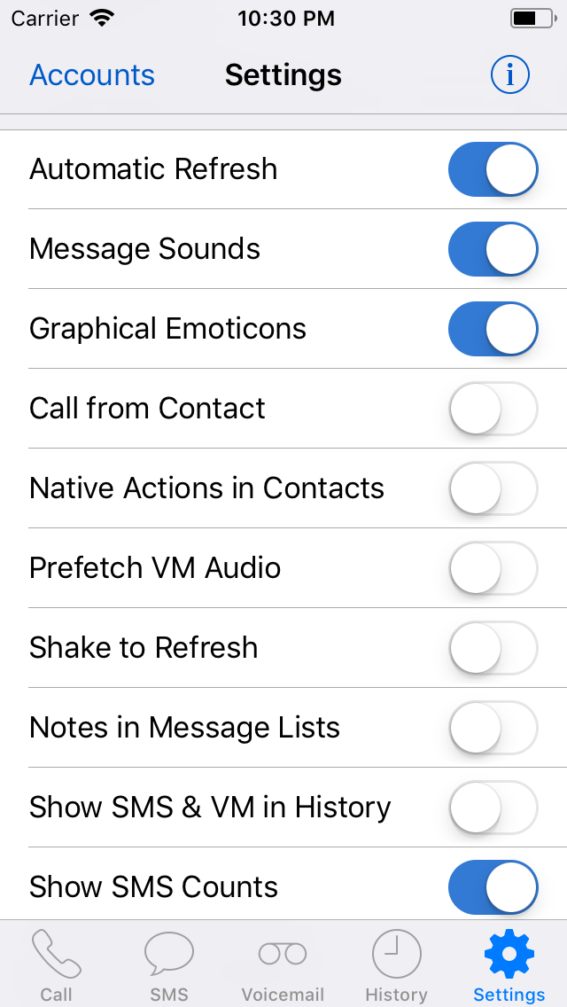 GV Connect — Google Voice for iPhone, iPod Touch & iPad